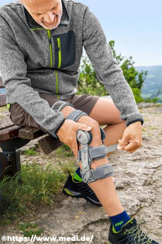 Orthese Knie Schienenbein