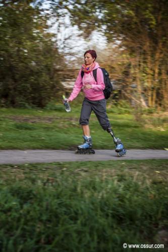 Prothesen-Prothese Bein Sport